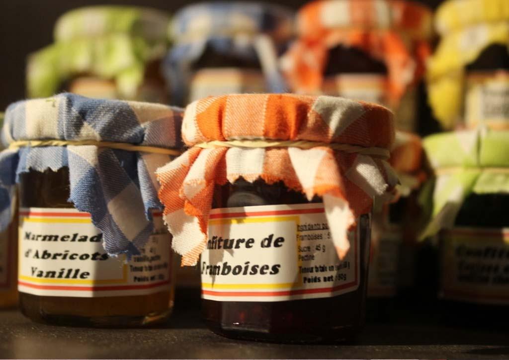 Confitures, marmelades et confiseries