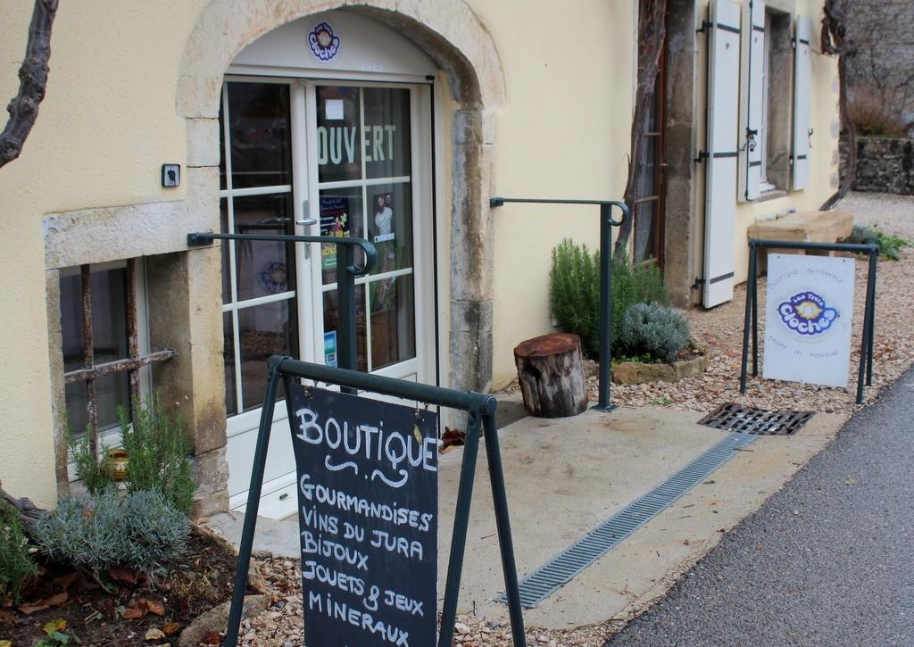Boutique artisanale de produits fabriqués dans le Jura