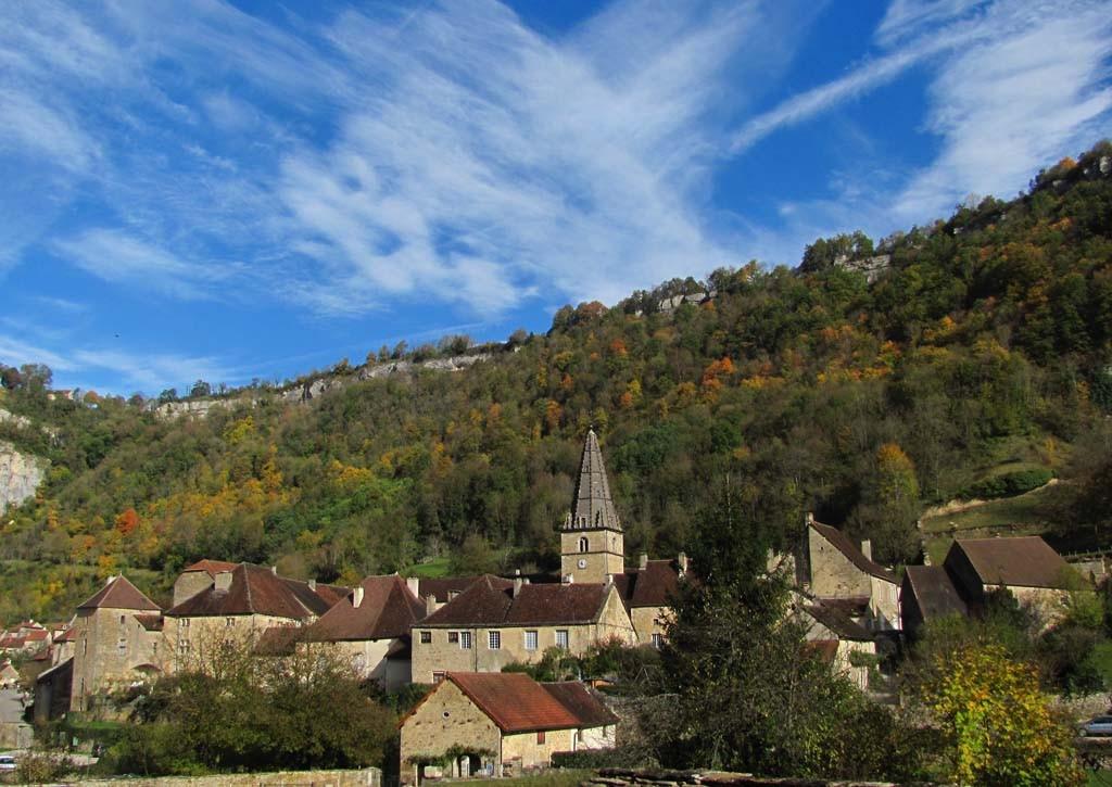 Baume Les Messieurs - L'abbaye